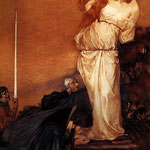 edward coley burne-jones - Guinevere Rescued by Lancelot
