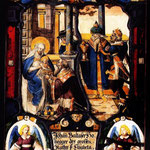 витраж семьи Хонеггер, 1629