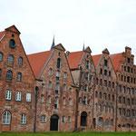 Historische Fassaden in Lübeck