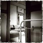 Apartment »Alte Kate«, Blick aus der Schlafkammer