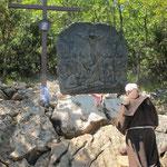 Eine besonders bewegende Station: Jesus stirbt am Kreuz