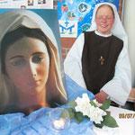 Schwester Marie-Therese von der Gemeinschaft der Seligpreisungen