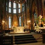 Ein Blick in das Innere der Basilika