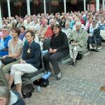 Das Forum Pax Christi ist voll besetzt