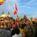 Das Jugendfestival findet seit 1990 jährlich in der ersten August-Woche statt