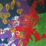 Sans titre-Acrylique sur toile, 65 x 54  cm