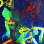Sans titre-Acrylique sur toile, 116 X 89 cm-2014
