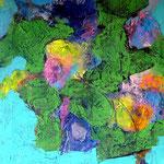 D-rive - Acrylique sur toile, 65 x 50 cm - 2015