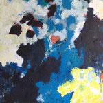 Sans titre- Acrylique sur toile, 195x114 cm