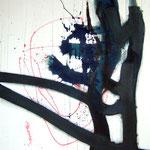 Kamikaze-Acrylique sur toile, 146 x 114 cm-2011