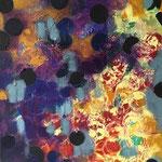 Sans titre - Acrylique sur toile, 60x60 cm