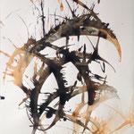 Sans titre 1, encre 70 x50 cm