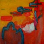 Sans titre-Acrylique sur toile, 162x130 cm-2012