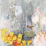 D-construction-Technique mixte sur toile, 35x27 cm- 2019