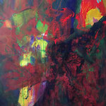 Arbre de vie- Acrylique sur toile, 130x97 cm