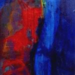 Victoire-Acrylique sur toile, 150 x 50 cm-2012