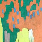 Sans titre- Huile sur toile, 73x60 cm