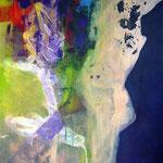 D-gradation - Acrylique sur toile, 130x97cm