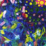 Retourd'Inde- Acrylique sur toile, 130x97 cm