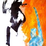 EnR- Acrylique sur toile, 195 x 130 cm - 2012