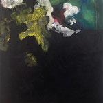 La vague - Acrylique sur toile, 73x60 cm