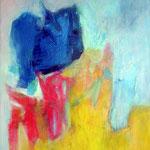 Sans titre-Acrylique sur toile, 116 x 89 cm - 2014