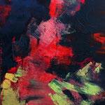Sans titre - Acrylique sur toile, 65x50 cm