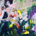 Sans titre- Acrylique sur toile, 147x130cm