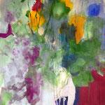 Le sacre du printemps- Acrylique sur toile, 100x73 cm