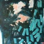 D-construction 6- Acrylique sur toile, 100x81 cm
