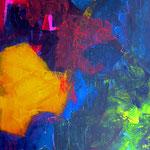 Sans titre - Acrylique sur toile, 116 X 89 cm - 2014