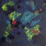 Sans titre - Acrylique sur toile, 80x80 cm