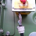 Maschinenanschlussleitung ausgerissen