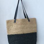 JULIA TOTE  color :  natural x black   完売しました