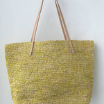 CATALANE  TOTE      color: natural x lemon  完売しました