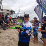 Brad taking out the Biggest Bream Title!