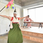 岩手県「中野七頭舞」のアレンジ。響喜の東北ツアーのために作った演目。