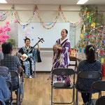 2016/7/30 陸前高田にて。この会場では、「津軽アイヤ節」の太鼓を完ぺきに打ってくれるお姉さんが!さすが東北。