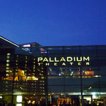 Palladium Theater bei Nacht