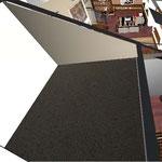стена 1 - это стена в гардеробную, советую добавить 4 м2 для гардеробной, над прихожей