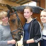 Julia, Dorothea und Johanna