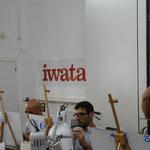 IWATA, lo sponsor degli aerografi, compressori ecc,