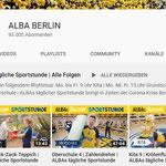 Sportprogramm von ALBA Berlin