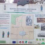 départ du Sentier des Turcos