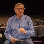 Richard Raducanu, bientôt ancien Président. Assemblée générale de l'Association JAZZ360. Cénac, samedi 1er février 2020