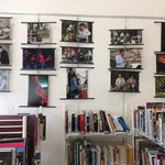 Rétrospective photographique JAZZ360 2016, médiathèque de Camblanes-et-Meynac. Photographies Christian Coulais