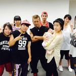 2014年9月6日(土)、いよいよBeat squadの初心者さん専用クラス「BASIC」がスタート!♪