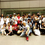 Beat squad、西千葉クラス&稲毛クラス、そして先輩方と一緒にパチリコ!♪