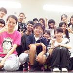 この日も楽しんだBeat squad西千葉クラス♪ザリナ、マナが入会をしてくれて、コウキがレッスンの見学にきてくれました♪