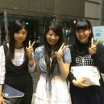 西千葉クラスから応援に駆けつけてくれた、アヤノ&ユーカ&アンナ、まじ有難う!!めっちゃ嬉しかったー♪